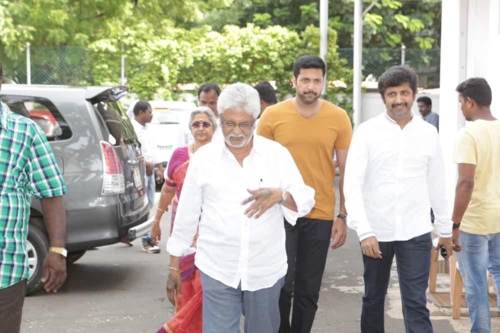 Jayam Ravi – Director Vijay's untitled project Pooja Stills 004