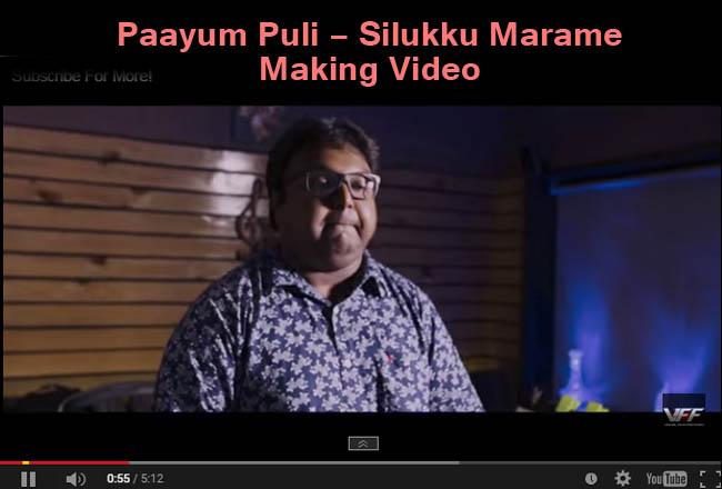 Paayum Puli - Silukku Marame - Making Video