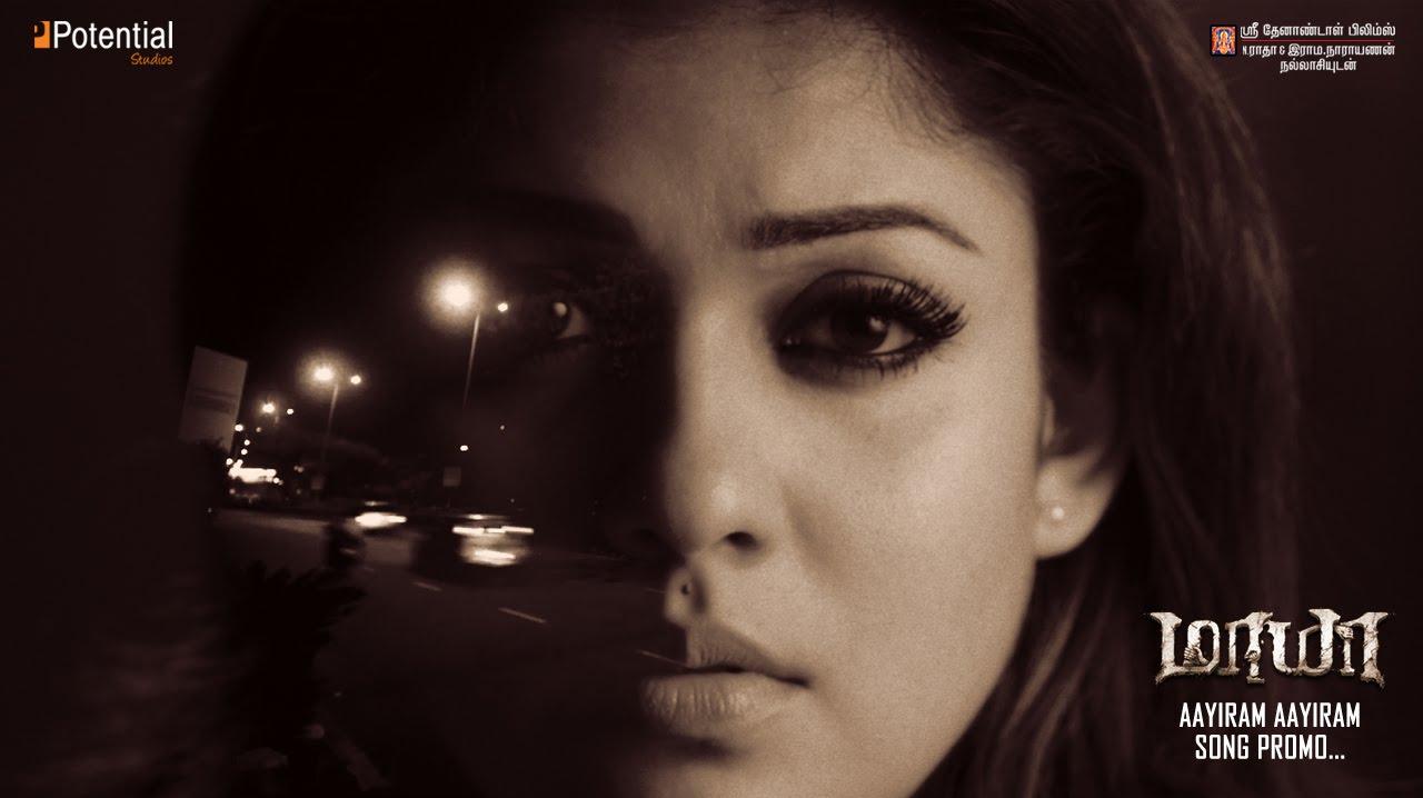 "Aayiram Aayiram promo video song Link From Movie ""Maya"""