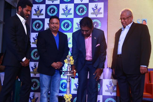 Launch images of Chennais First Tennis League Team V Chennai Warriors02