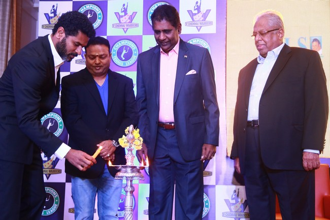 Launch images of Chennais First Tennis League Team V Chennai Warriors04