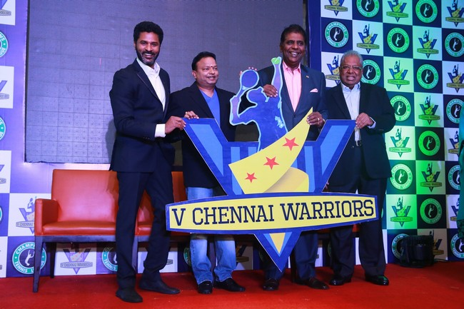 Launch images of Chennais First Tennis League Team V Chennai Warriors06