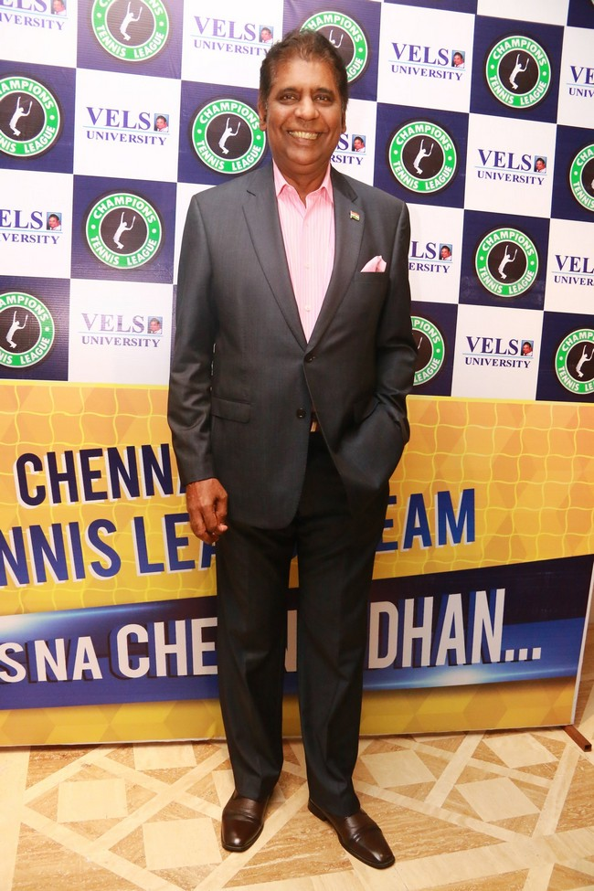 Launch images of Chennais First Tennis League Team V Chennai Warriors11