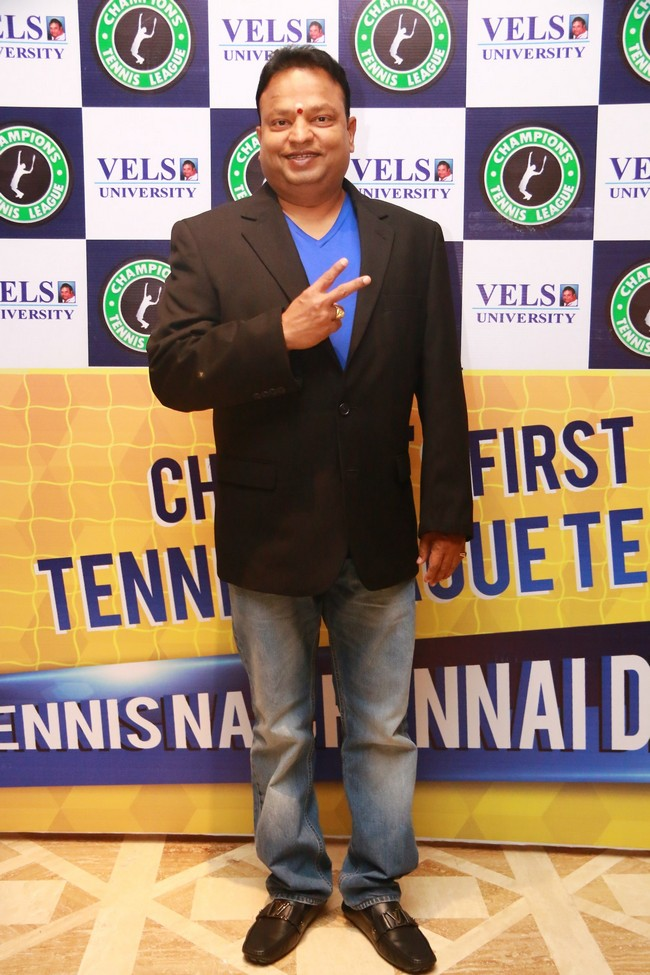 Launch images of Chennais First Tennis League Team V Chennai Warriors14