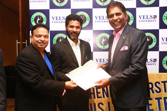 Launch images of Chennais First Tennis League Team V Chennai Warriors20