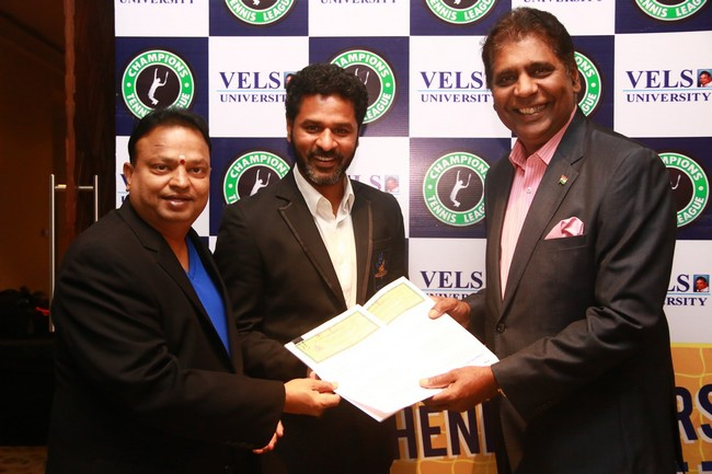 Launch images of Chennais First Tennis League Team V Chennai Warriors22
