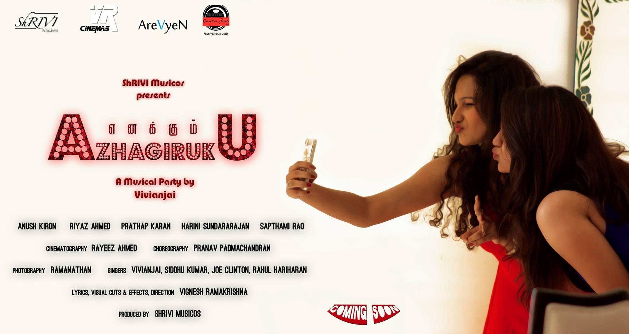 Tamil Album Songs – Enakum Azhagiruku | Vivianjai | Vignesh Ramakrishna | Swag's Party | HD |