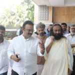 Celebrities Met Gurudev Sri Sri Ravi Shankar Ji In Chennai Photos  011