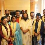 Celebrities Met Gurudev Sri Sri Ravi Shankar Ji In Chennai Photos  017