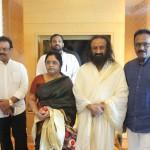 Celebrities Met Gurudev Sri Sri Ravi Shankar Ji In Chennai Photos  019
