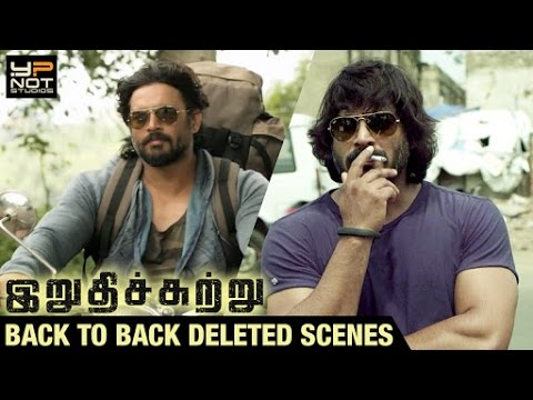 Irudhi Suttru Tamil Movie | Back-to-Back Deleted Scenes