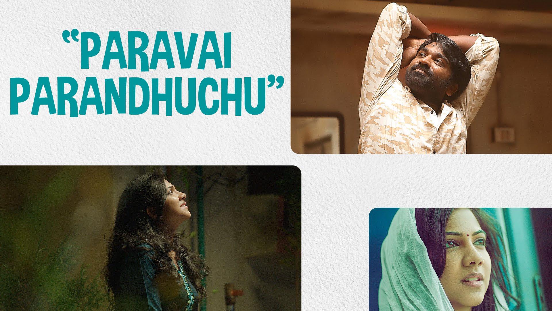 Kadhalum Kadanthu Pogum – Paravai Parandhuchu Lyric | Vijay Sethupathi | Santhosh Narayanan