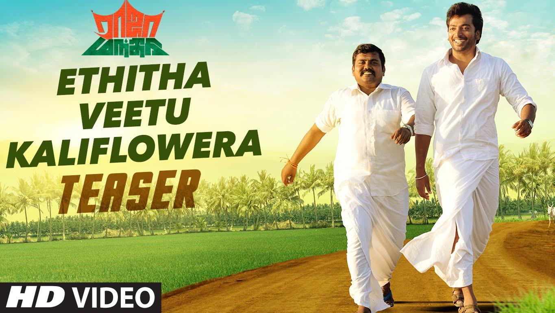 "Ethitha Veetu Kaliflower Video Teaser || ""Raja Mandhiri"" || Kalaiarasan, Shalin Zoya, Kaali Venkat"