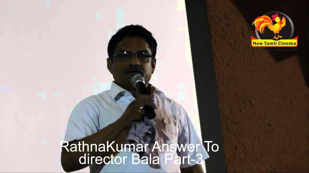 RathnaKumar Answer To Bala – Kutrparambarai issue Part-3
