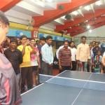 Actor Prashanth Opening in Kreeda Corporate Table Tennis Tournament stills 015
