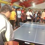 Actor Prashanth Opening in Kreeda Corporate Table Tennis Tournament stills 019