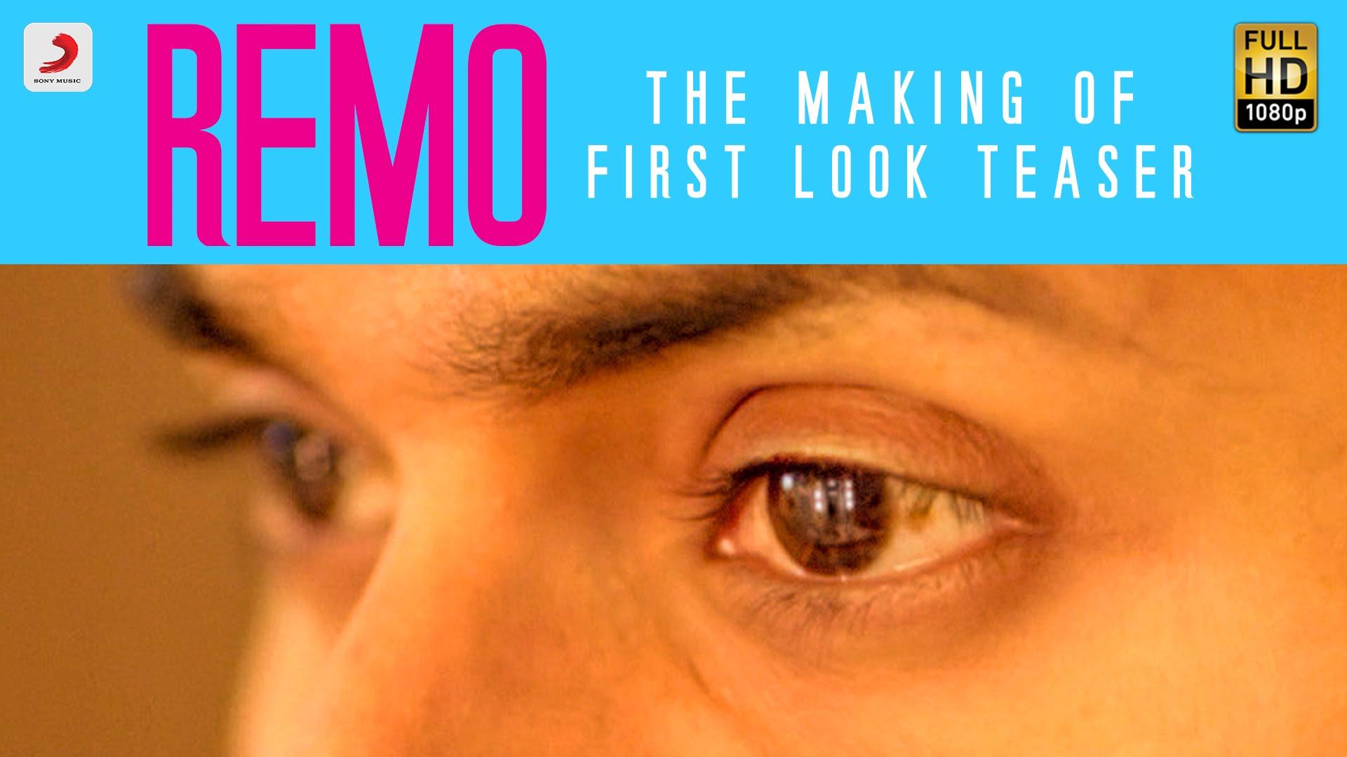 Remo – Making First Look Teaser | Sivakarthikeyan, Keerthi Suresh | Anirudh Ravichander