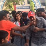 Actor Vishnu Vishal 's B'day Celebration Stills 003