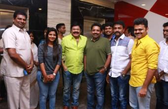 Celebrities @ Dharmadurai Premiere Stills 019