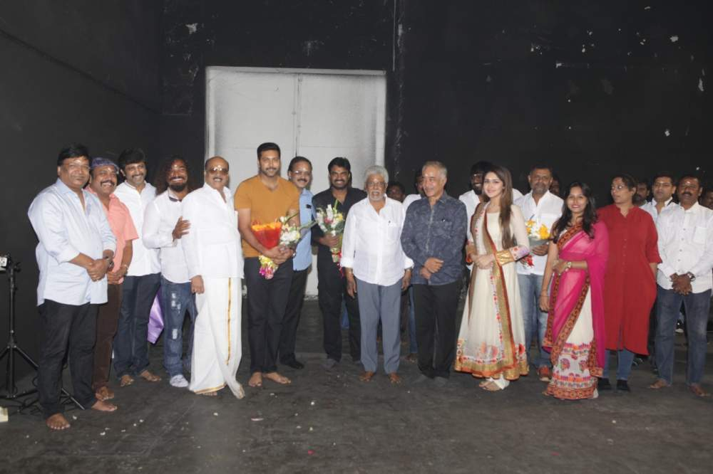 Jayam Ravi – Director Vijay's untitled project Pooja Stills 008