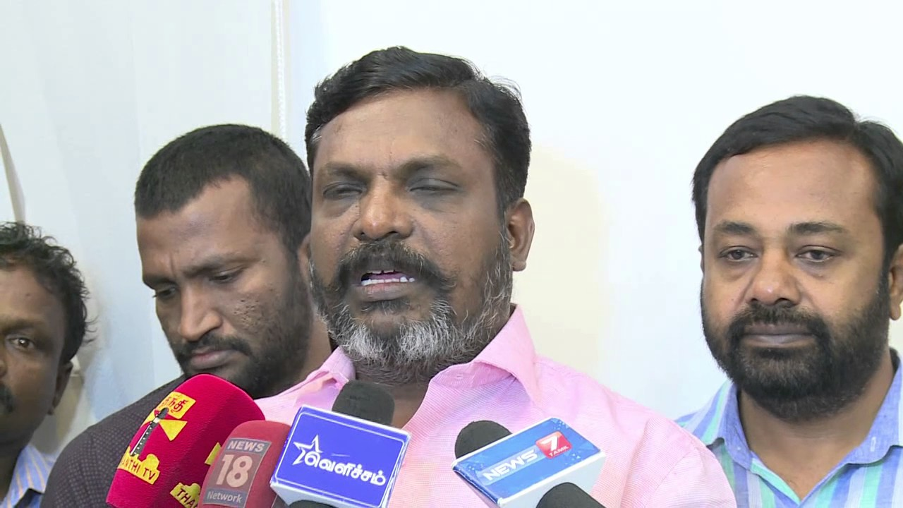 VCK Leader ThirumaValavan 's open talk about Susendiran 's MaaveeranKittu- Video