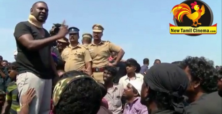FIGHT BETWEEN LAWRENCE AND DIRECTOR GOUTHAMAN-VIDEO
