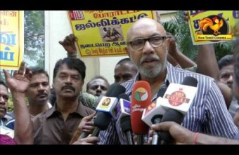 """Finish The Protest Soon""-Satyaraj Advice."
