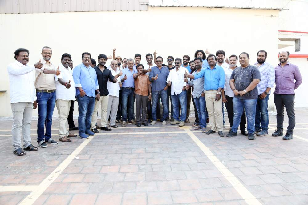 Vishal's Team filed their nominations for Producer Council Elections Stills 006