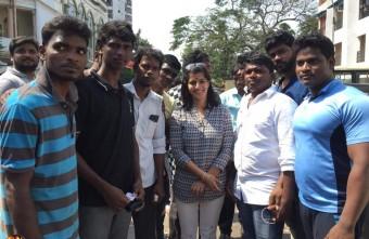 Actress Varalakshmi Sarathkumar Birthday Celebration Stills 021