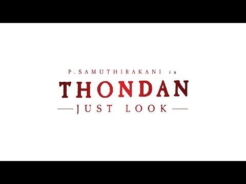 P.Samuthirakani in Thondan Movie Just Look Video