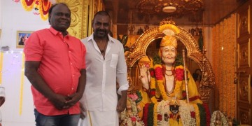 Raghava Lawrence Open Temple for His Living Mother Photos008