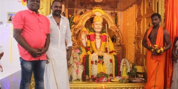 Raghava Lawrence Open Temple for His Living Mother Photos009