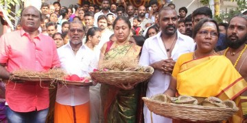 Raghava Lawrence Open Temple for His Living Mother Photos013
