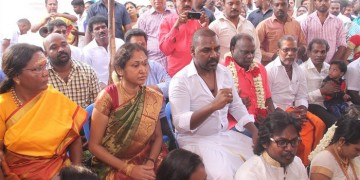 Raghava Lawrence Open Temple for His Living Mother Photos014