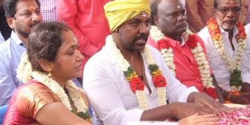 Raghava Lawrence Open Temple for His Living Mother Photos016