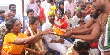 Raghava Lawrence Open Temple for His Living Mother Photos018