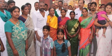 Raghava Lawrence Open Temple for His Living Mother Photos030