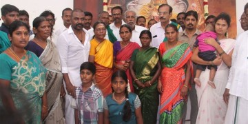 Raghava Lawrence Open Temple for His Living Mother Photos031