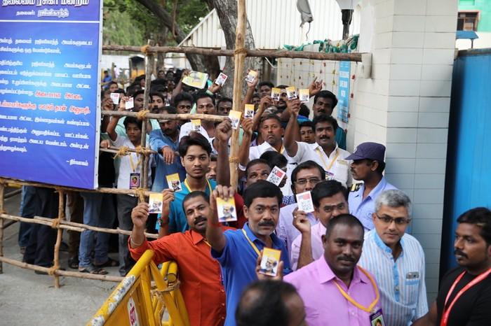 Superstar Rajinikanth Fans Meet – Day 3 Photos012
