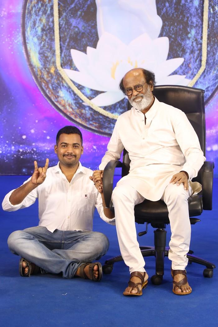 Superstar Rajinikanth Fans Meet – Day 3 Photos018