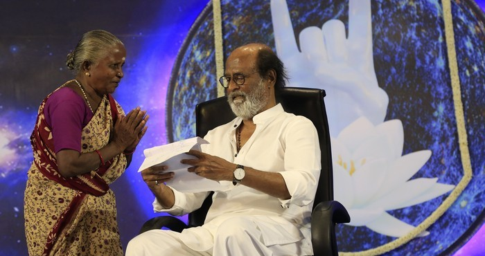 Superstar Rajinikanth Fans Meet - Day 4 Photos008