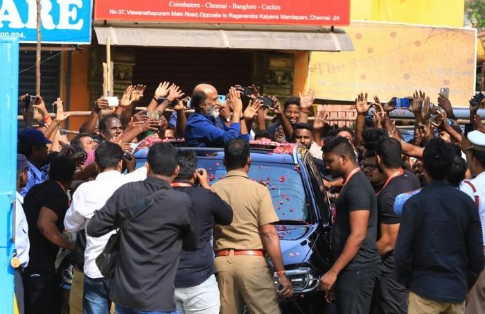 Superstar Rajinikanth Photos Day 5001