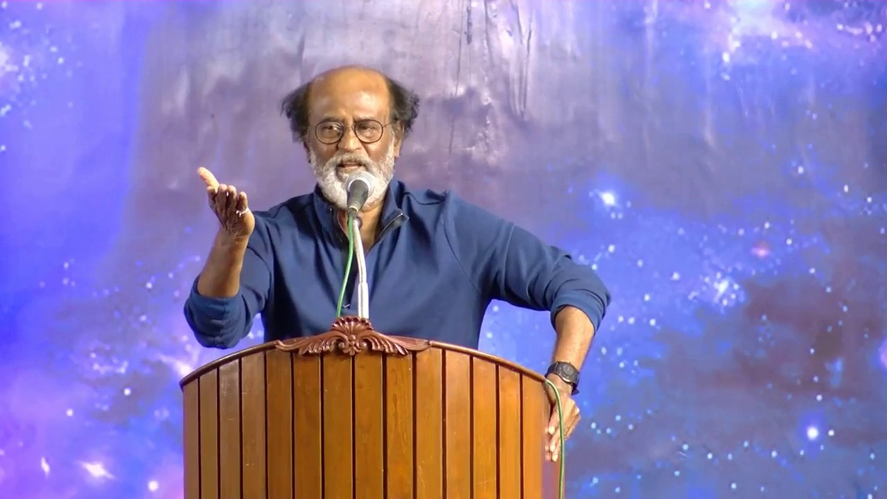 """We Will Give The Change In TN Politics System""-Rajinikanth Exclusive Speech."