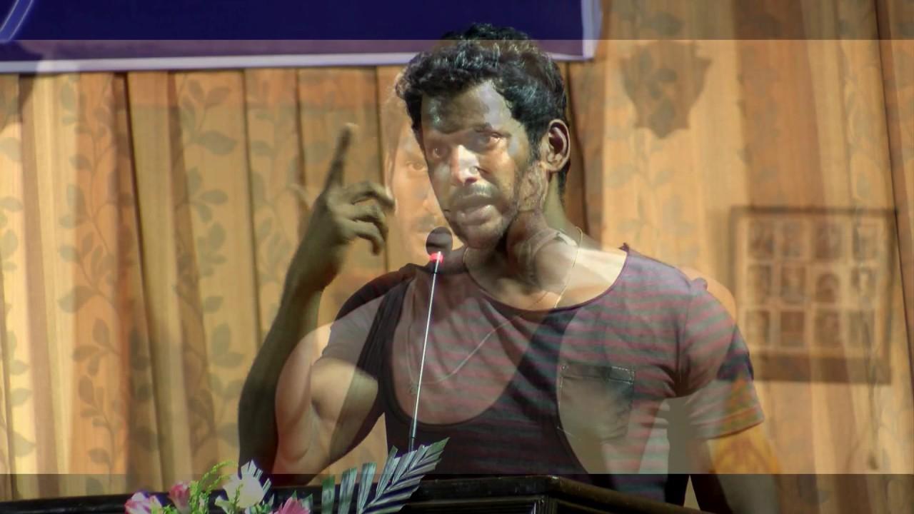 Vishal Announced The Theatre Strike !!!