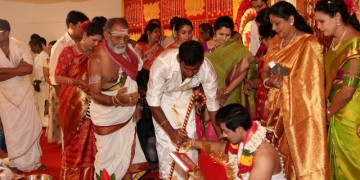 Vishal sister marriage00001