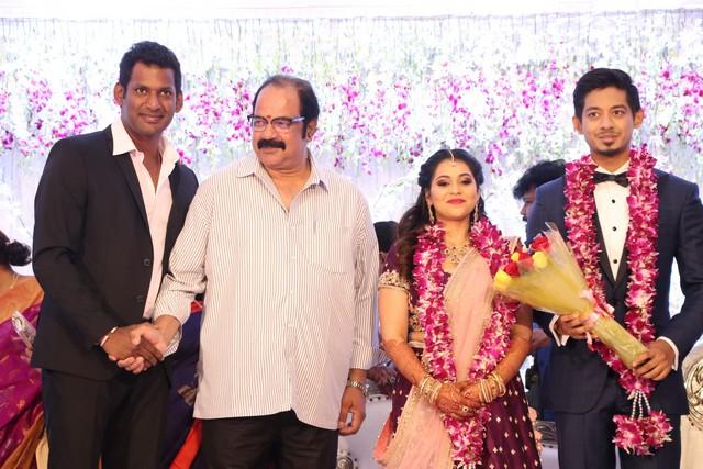 Vishal sister marriage00004