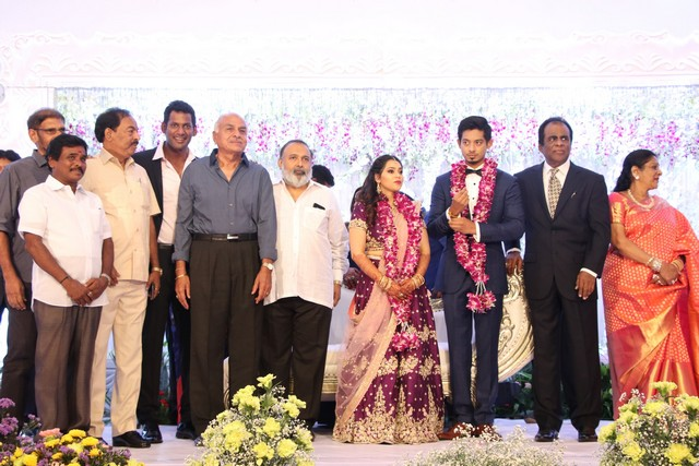 Vishal sister marriage00007