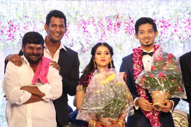 Vishal sister marriage00008