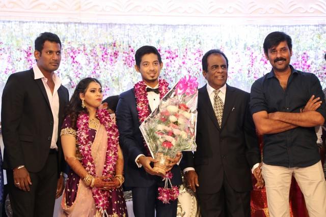 Vishal sister marriage00009