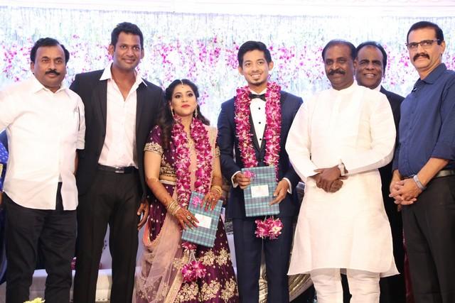 Vishal sister marriage00016